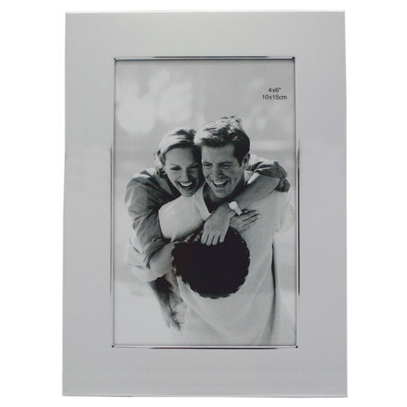 HBA0508 8X10 INCH PLAIN SHINEY PICTURE FRAME  rjsmith-son.co.uk