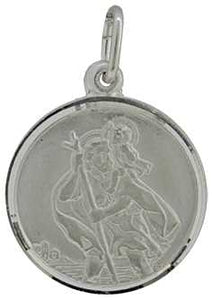 Silver (18mm) St.Christopher, 2.15g J31349