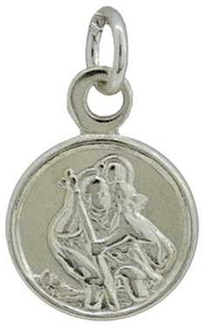 Silver (10mm) St.Christopher, 0.75g J31424