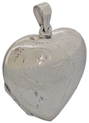 33 x 33mm (Patterned & Puffed) Heart J32907