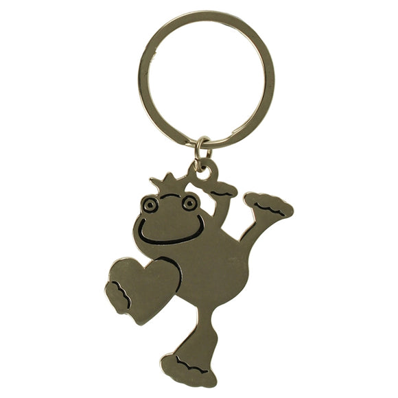 KR1110 HAPPY FROG METAL KEY RING  rjsmith-son.co.uk