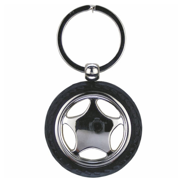 KR902 CAR WHEEL KEY RING WITH TYRE  rjsmith-son.co.uk