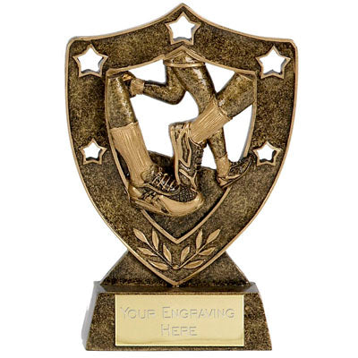 Star Shield Running Trophy