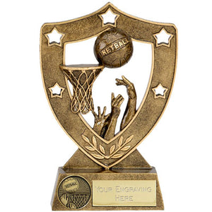 Star Gold Shield Netball Trophy