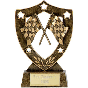 Shield Star Chequered Flag Motorsport Award
