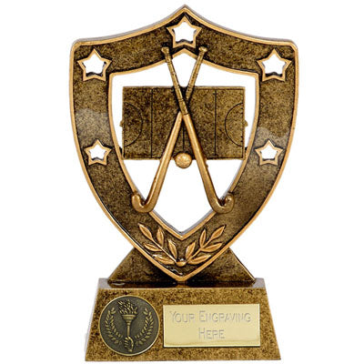 Star Shield Hockey Trophy 12.5cm (5