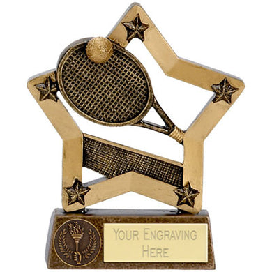 Economy Star Tennis Trophy 12.5cm (5