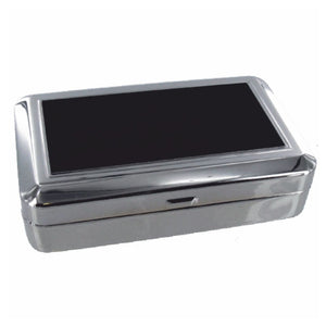 OTLTTP07 TOBACCO BOX WITH BLACK LID PLATE & ROLLING MACHINE