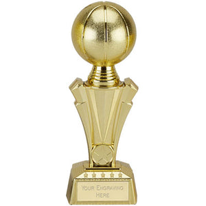 Project X Gold Tower 3D Basketball Trophy
