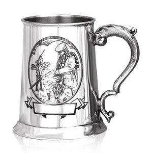 TS328 - Pewter Shooting 1 Pint Tankard
