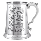 1 Pint England 3 Lions Pewter Tankard TS361 – R J SMITH & SON