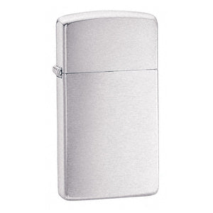Z1600 ZIPPO BRUSHED CHROME LIGHTER SLIM
