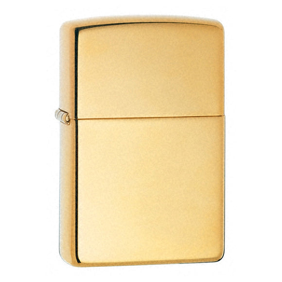 ZIPPO HIGH POLISHED BRASS LIGHTER ARMOR Z169
