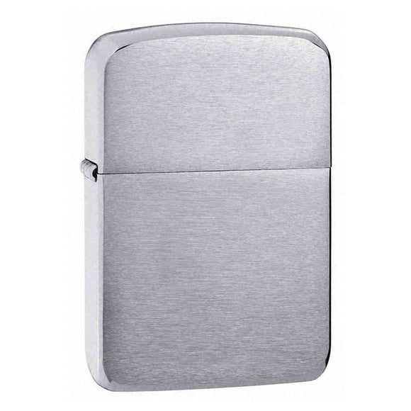 Z1941 ZIPPO BRUSHED CHROME LIGHTER 1941 REPLICA