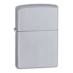 Z205 ZIPPO SATIN CHROME LIGHTER REGULAR