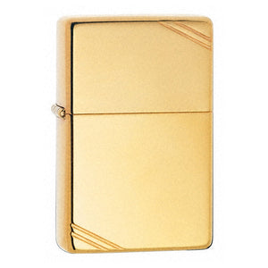 Z270 ZIPPO HIGH POLISHED BRASS LIGHTER VINTAGE