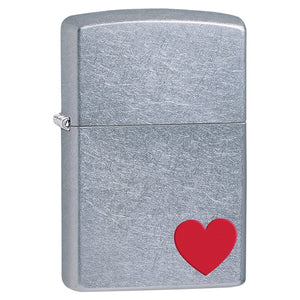 Z29060 ZIPPO LIGHTER STREET CHROME LOVE