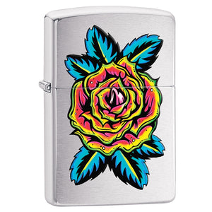 Z29399 ZIPPO BRUSHED CHROME LIGHTER