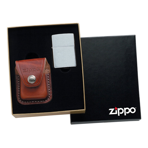 ZIP868 ZIPPO LPGS POUCH GIFT KIT. POUCH/LIGHTER SOLD SEPARATELY
