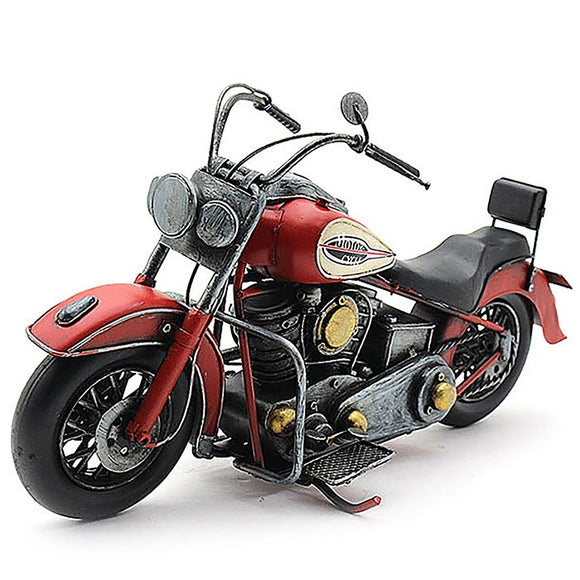 Tin Transport Motorbike Red LP42174