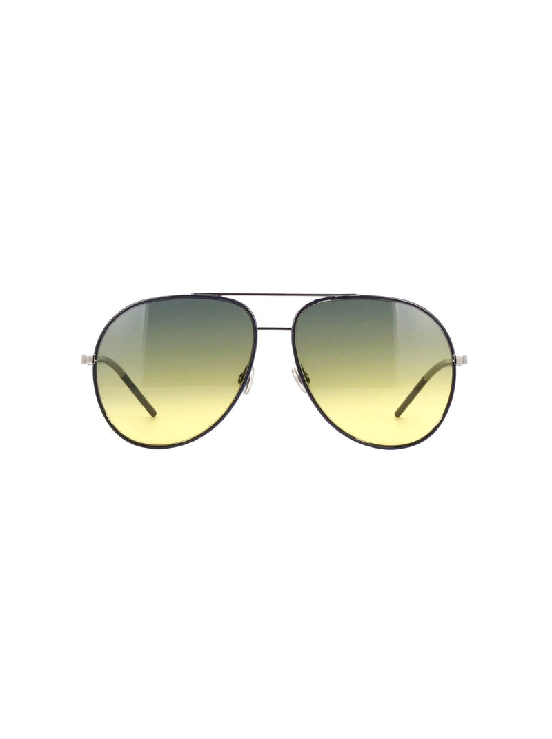 ff782aa0eaaad Dior - Astral Aviator Sunglasses - Blue Ruthenium   Green Yellow Gradient -  ForwardModa