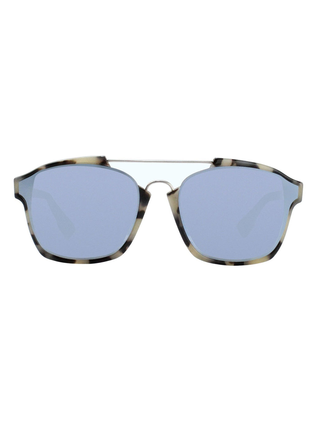aab27e31a9322 Dior - Abstract Sunglasses - Havana   Light Blue Mirrored - ForwardModa