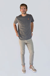 Camiseta Washed Gray
