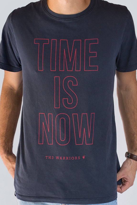 Camiseta Time is Now