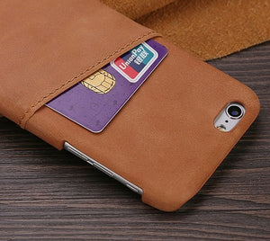 Grip Leather Case For iPhone - Art Beauty Fashion