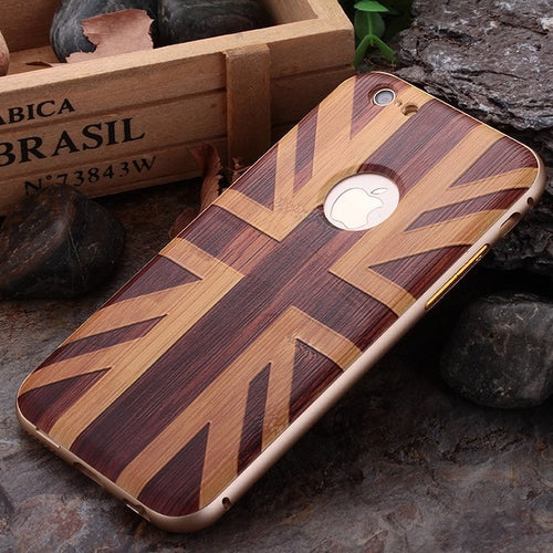 UK Flag Aluminum iPhone Bumper Case - Art Beauty Fashion