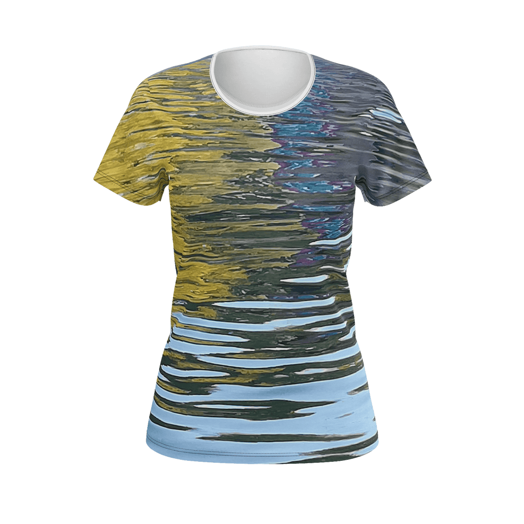 Water Study - Designer T-Shirt II - Art Beauty Fashion
