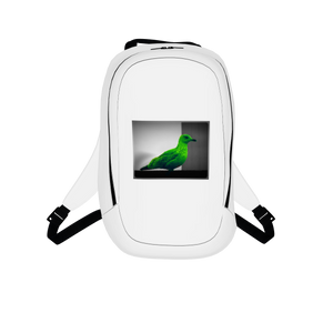 Green Bird Backpack - Art Beauty Fashion