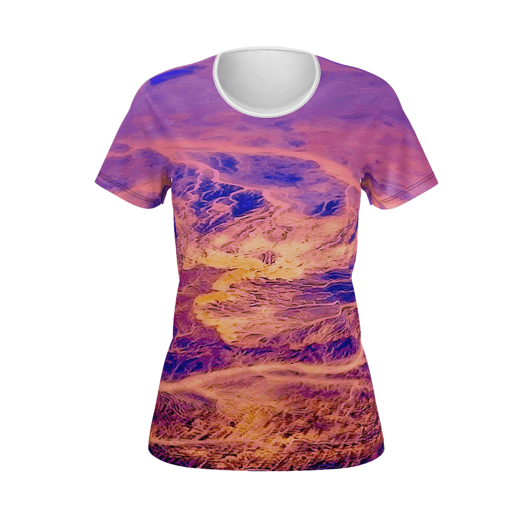 Designer Pattern T-Shirt - Art Beauty Fashion
