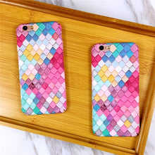 Mermaid Pattern Case For iPhone - Art Beauty Fashion