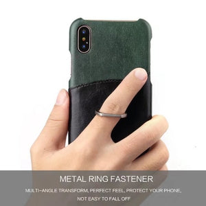 Smart Ring iPhone X Card Case - Art Beauty Fashion
