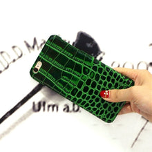 Emerald Green Crocodile iPhone Case - Art Beauty Fashion