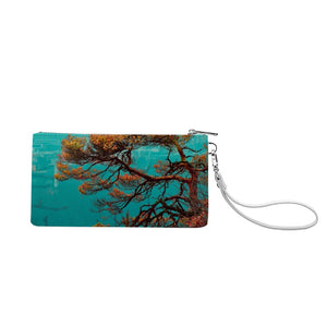 Designer - Men and Women's Genuine Leather Wallet around Long Clutch Purse - Art Beauty Fashion