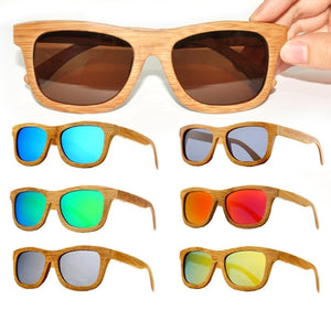 Bamboo Sunglasses - Art Beauty Fashion