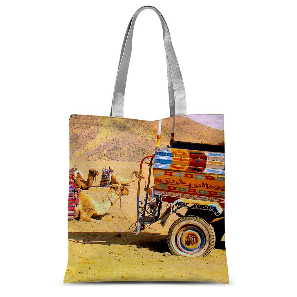 Sublimation Tote Bag - Art Beauty Fashion