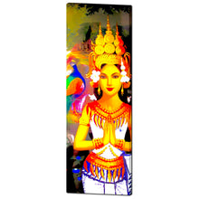 Praying buddhist Cambodian Khmer Girl Canvas - Art Beauty Fashion