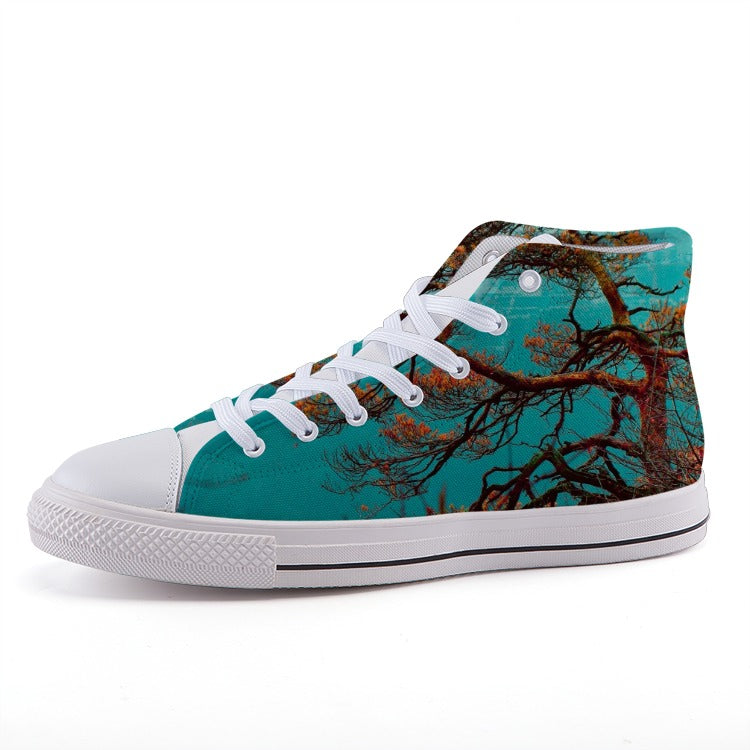 Japanese Style High-top fashion canvas Designer shoes - Art Beauty Fashion