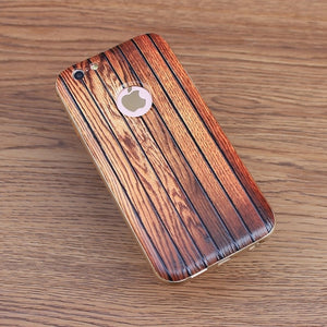 Carbonized Wood iPhone Bumper Case - Art Beauty Fashion