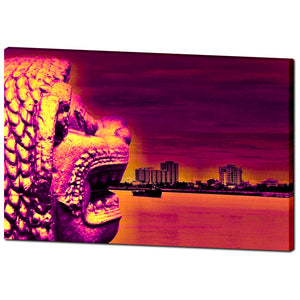 Mekong Impressions Far East - Canvas - Art Beauty Fashion