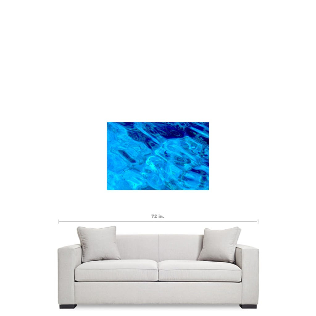 Red Sea Water Style Study with so good quality you can see the small fishes- Gyclée Paper Print - Art Beauty Fashion