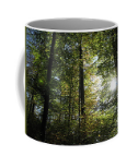 Forest Nature - Mug perfect to wake up with nature and coffee in your hand - Art Beauty Fashion