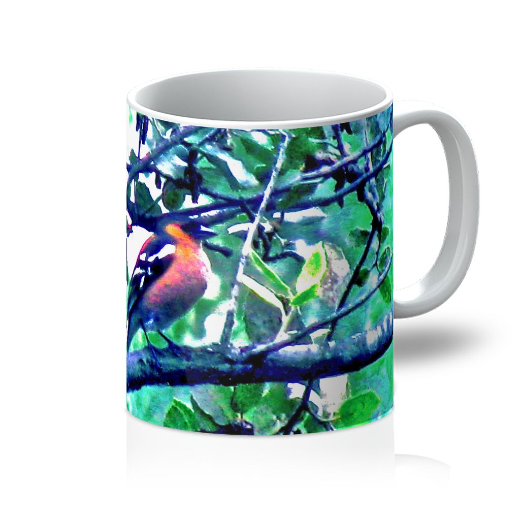 Bird Designer Mug - Art Beauty Fashion