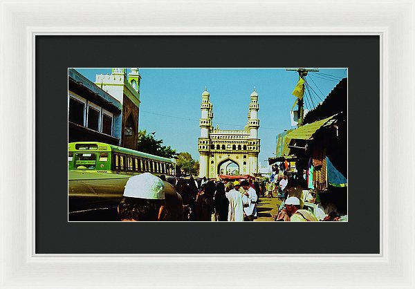 Arabian Style Study - Framed Print - Hyderabad - Art Beauty Fashion