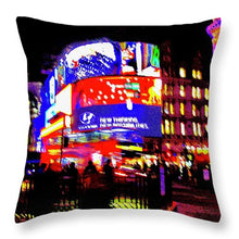 Artistic Piccadilly Impressions - Throw Pillow - Art Beauty Fashion