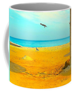 Wake up happy with the Beach in your home with this summer beach Mug - Art Beauty Fashion