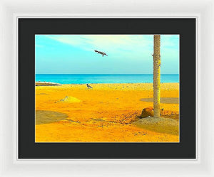 Beach Study  - Framed Print - Art Beauty Fashion